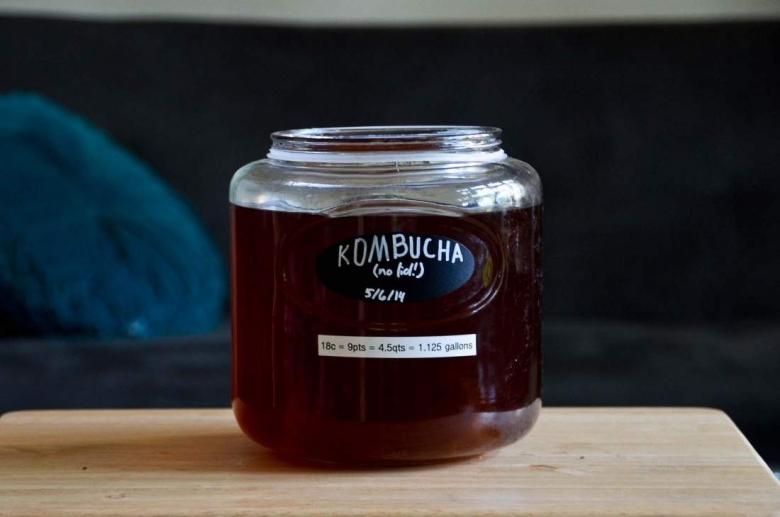 kombucha un tè fermentato