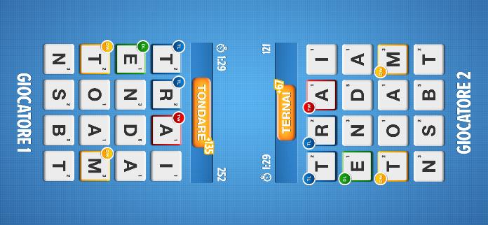 Ruzzle - 2 giocatori
