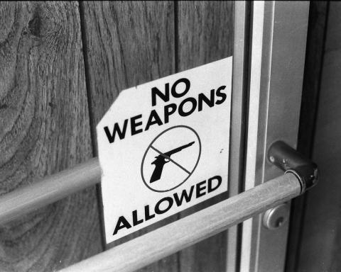 america sicurezza disarmo