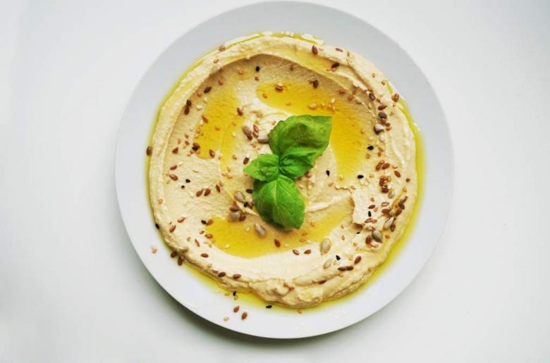 Antipasti Di Natale Vegetariano.Hummus Di Ceci Di Natale Antipasto Vegetariano
