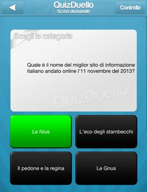 Cos'è QuizDuello