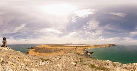 Colombia, La Guajira. Il Pilon de Azucar è un luogo sacro per la popolazione Wayuu