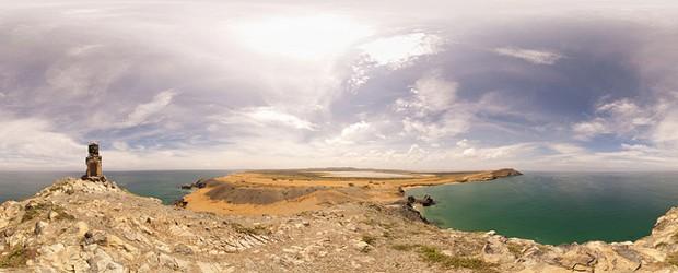 Colombia La Guajira. Il Pilon de Azucar è un luogo sacro per la popolazione Wayuu