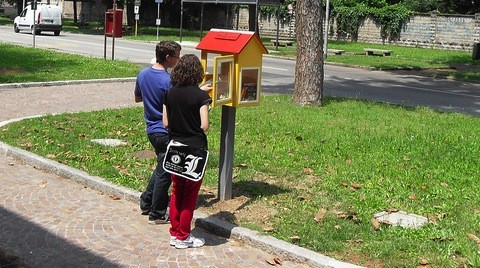 Corbetta Little free library