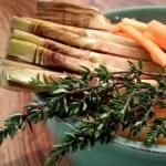 Verdure al timo al cartoccio