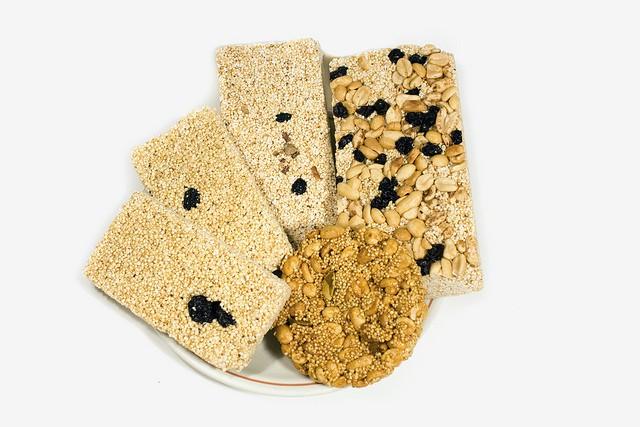 barrette energetiche senza glutine