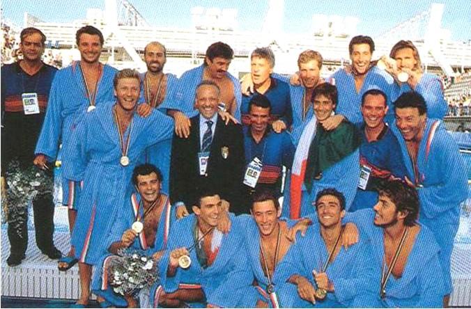 Settebello Barcellona 1992 olimpiadi
