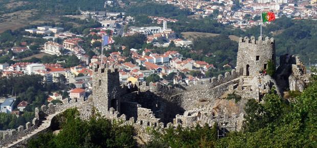 Sintra top 3 Castelo dos mouros