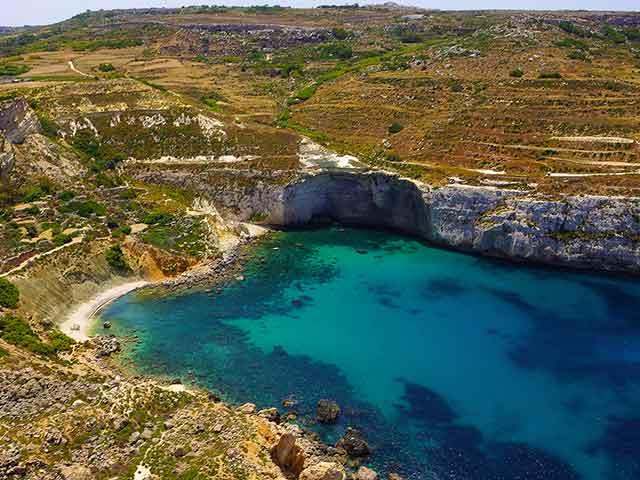 Malta mare low cost Fomm ir-Rih Bay