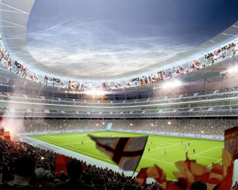 stadio nuovo roma