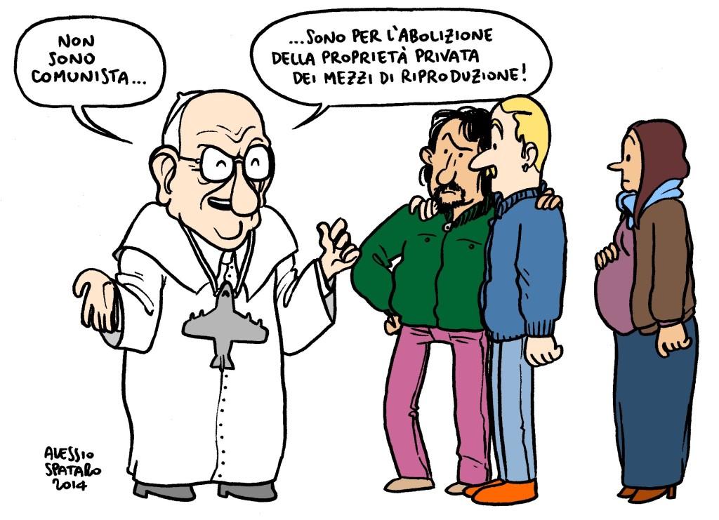 Alessio Spataro, l'insostenibile leggerezza della Satira