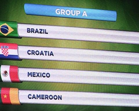 Speciale Mondiale gruppo A: Brasile, Croazia, Messico, Camerun
