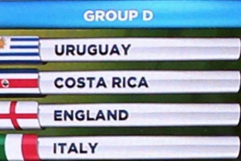Speciale mondiali girone C- Italia, Uruguay, Inghilterra, Costa Rica-D
