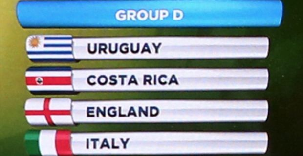 Speciale Mondiali girone D: Italia, Uruguay, Inghilterra, Costa Rica