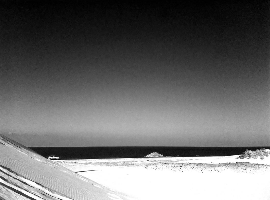 Fotografia minimalista Fuerteventura