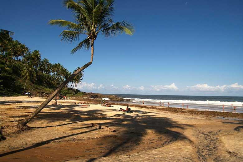 Brasile non turistico Costa do Dendê