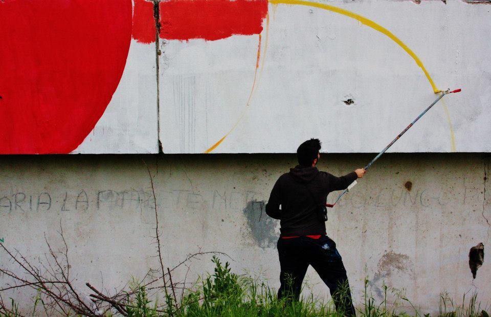 Scampia, iniziative culturali: graffiti