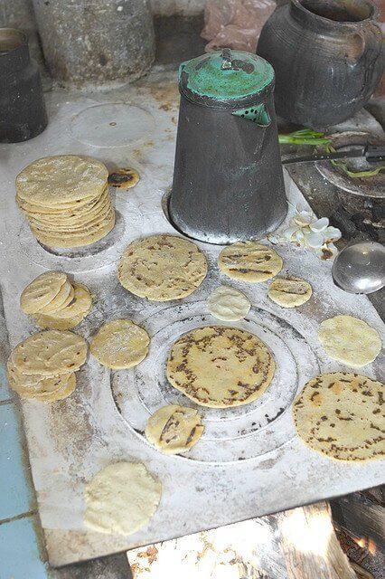 tortillas di farina di mais