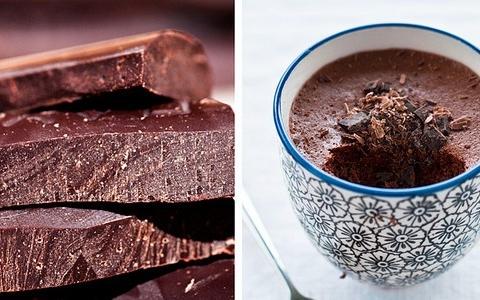mousse al cioccolato e acqua di hervé this
