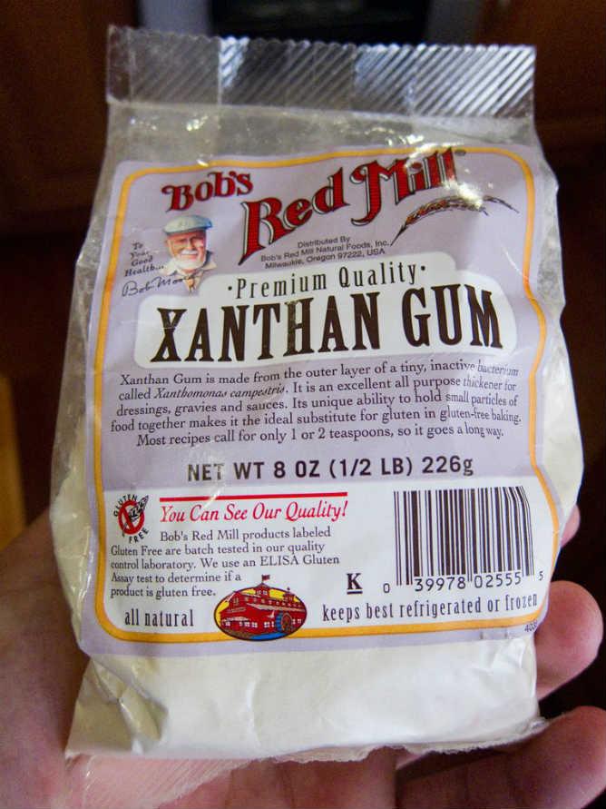 xanthan gum cos'è e come si usa