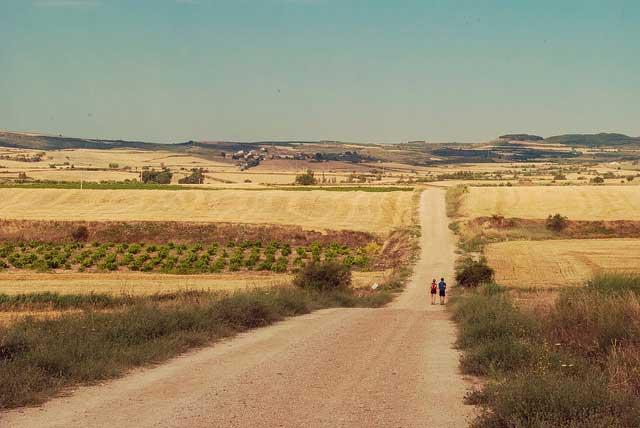 itinerari a piedi cammino di santiago