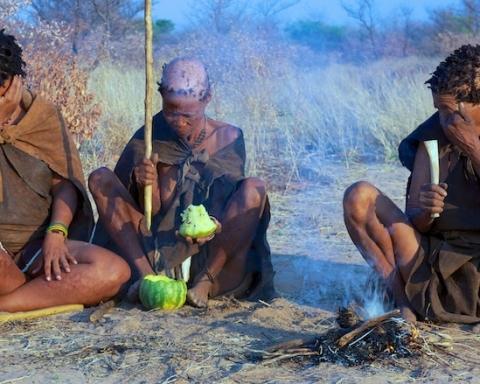 boscimani del kalahari