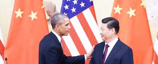 Accordo cambiamenti climatici Cina-USA