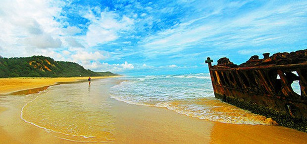 Capodanno al mare Fraser Island