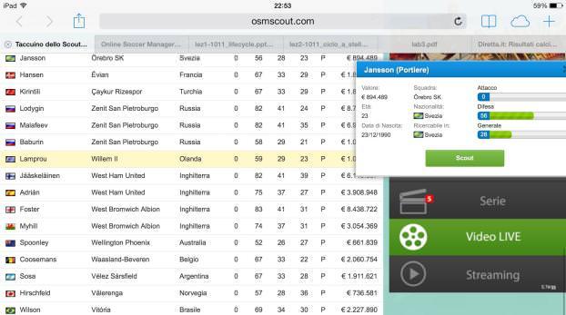 Online-Soccer-Manager