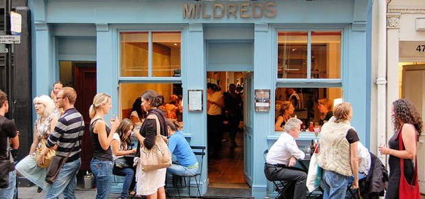 Ristoranti vegetariani Londra - Mildreds