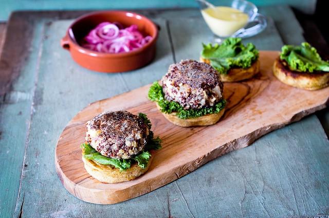 Ricetta per fare i quinoa burger