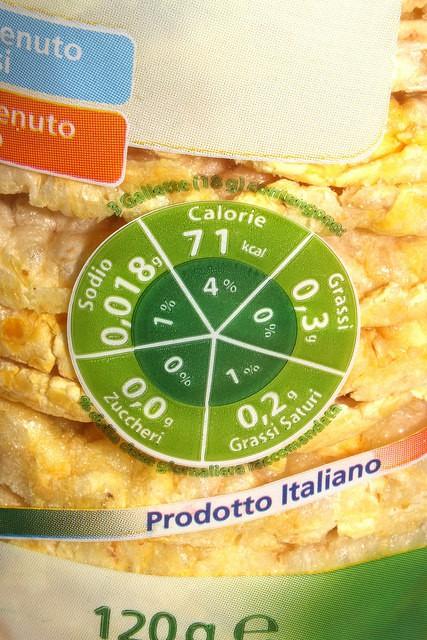 cosa c'è sulle etichette degli alimenti