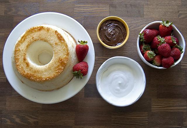 torta senza grassi