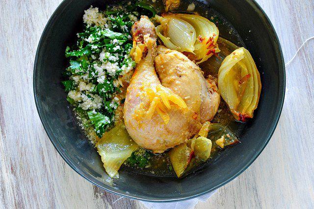 ricetta per tajine di pollo