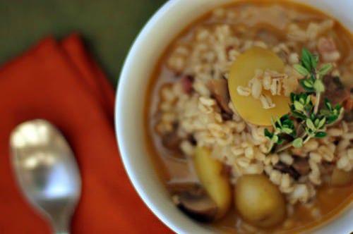 Ricetta zuppa d'orzo integrale