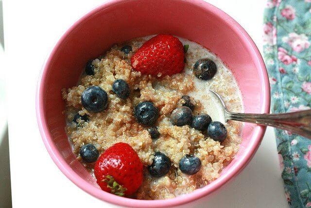 quinoa e la colazione integrale che fa bene