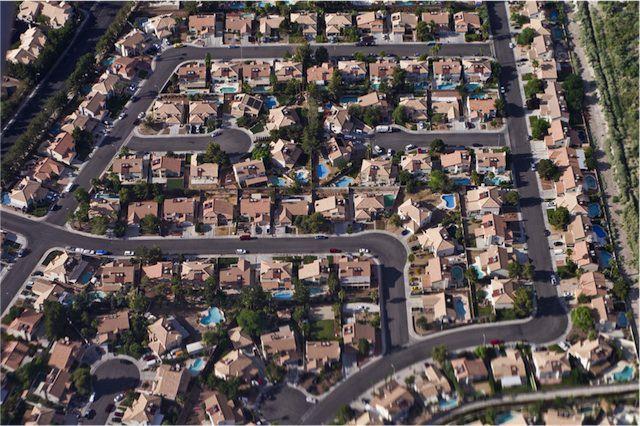 consumo di suolo e urban sprawl