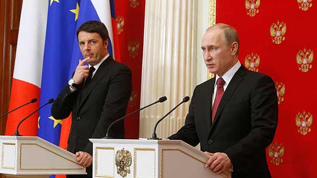 Renzi in Ucraina e Russia