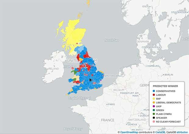 Ultimi sondaggi elezioni Gran Bretagna 2015