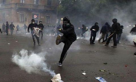 Black Bloc a Milano