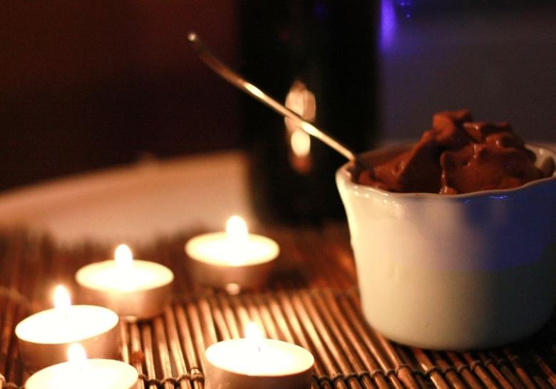 gelato al cioccolato crudista