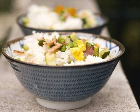 come ridurre le calorie del riso