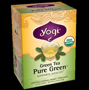 migliori te da provare te verde yogi