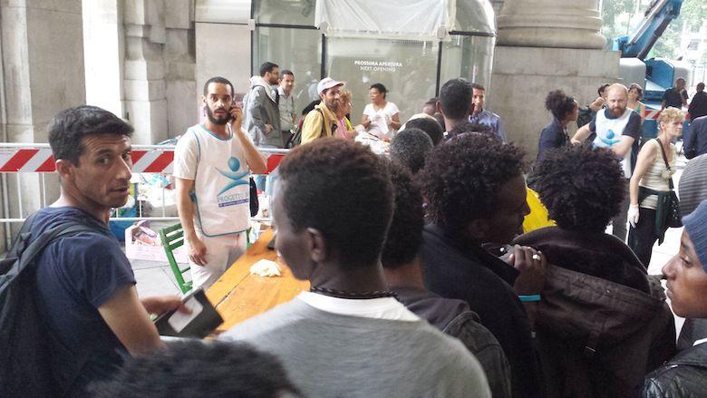 milano accoglienza migranti