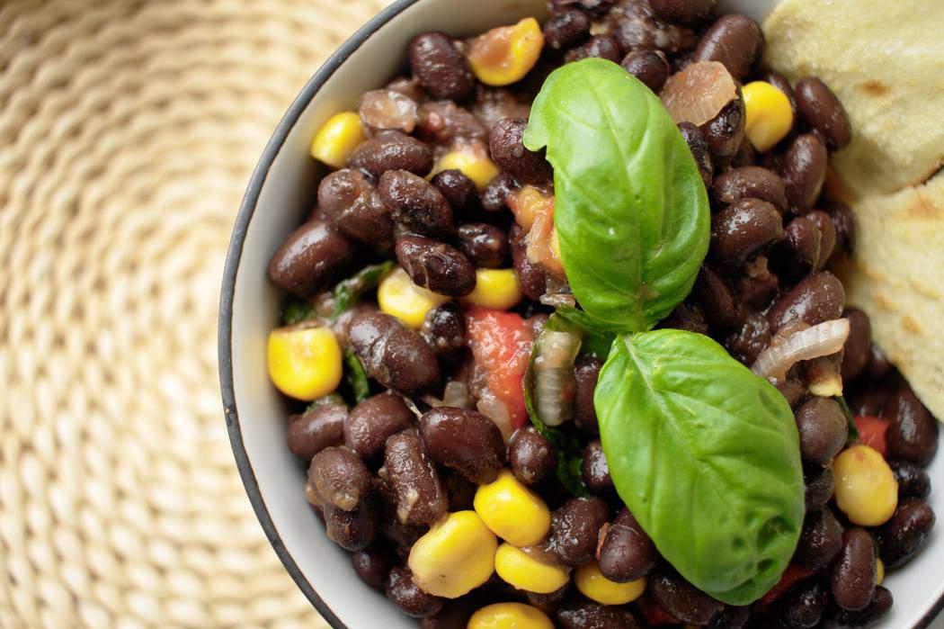 insalata di fagioli neri