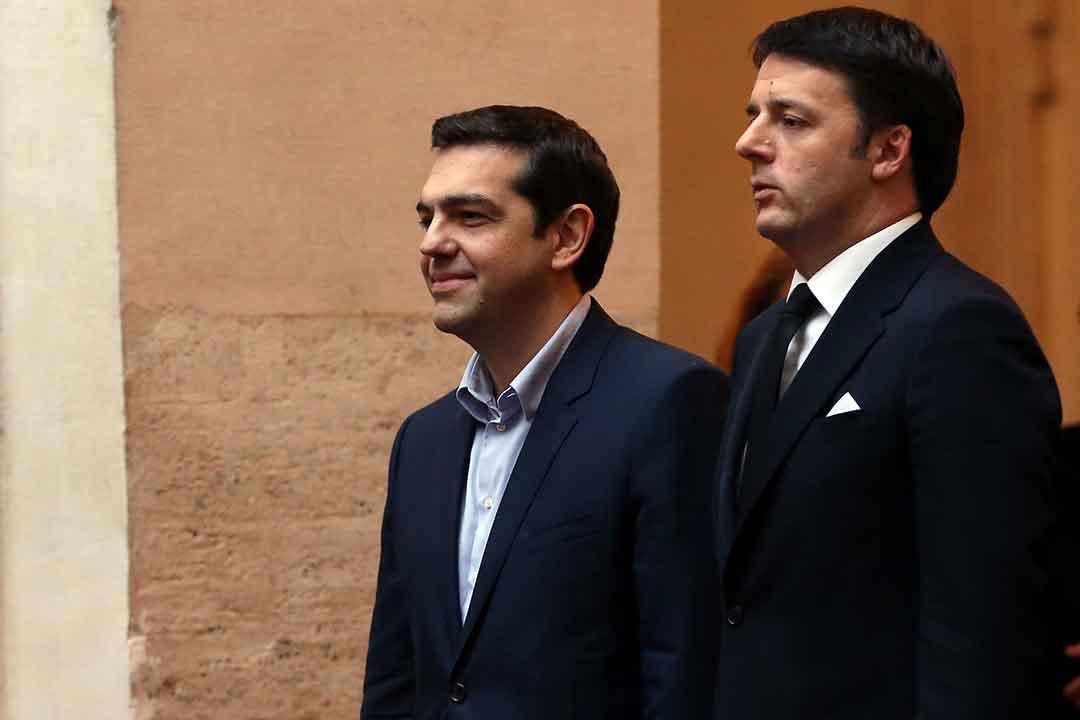 renzi contro tsipras