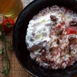 risotto veloce e buono pomodoro