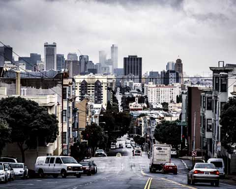 Sulle strade di San Francisco