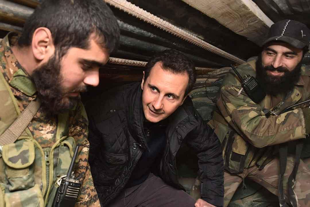 siria 2015: amici e nemici di Bashar al-Assad