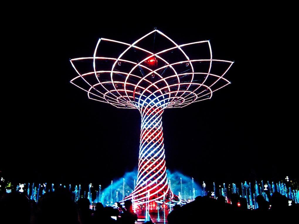 Cosa significa l 39 albero della vita di expo 2015 for Cosa significa matteo